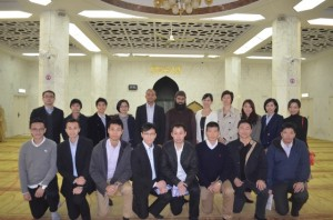 Police visit to Kowloon Mosque